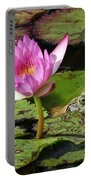 Lily And The Bullfrog Portable Battery Charger