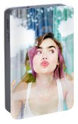 Lily Collins Portable Battery Charger
