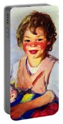 Lily Cow And The Queen 1915 Portable Battery Charger
