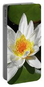 Lily Floating On Pond IIi Portable Battery Charger