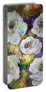 Lily Garden With Shadows And Light Portable Battery Charger