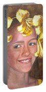 Lily Girl Portable Battery Charger