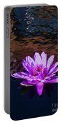 Lily In Pond Portable Battery Charger