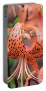 Lily In The Rain Portable Battery Charger