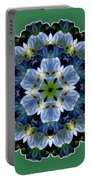 Lily Medallion Portable Battery Charger