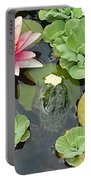 Lily Pad Lunch Portable Battery Charger
