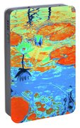 Lily Pads And Koi 10 Portable Battery Charger