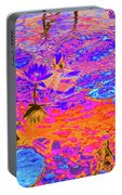 Lily Pads And Koi 17 Portable Battery Charger