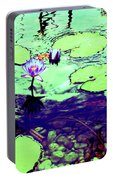 Lily Pads And Koi 2 Portable Battery Charger