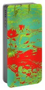 Lily Pads And Koi 33 Portable Battery Charger