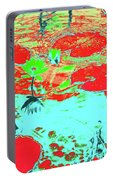 Lily Pads And Koi 8 Portable Battery Charger
