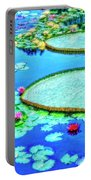 Lily Pond 2 Portable Battery Charger