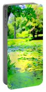 Lily Pond #5 Portable Battery Charger