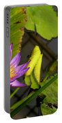 Lily Pond Portable Battery Charger