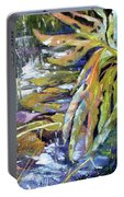 Lily Pond Light Dance Portable Battery Charger