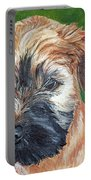 Lily, Soft Coated Wheaten Puppy Portable Battery Charger