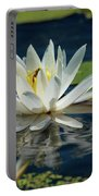 Lily With Bee Portable Battery Charger
