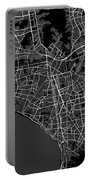 Lima Peru Dark Map Portable Battery Charger
