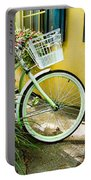 Lime Green Bike Portable Battery Charger