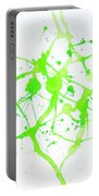Lime Green Study Portable Battery Charger