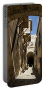 Limestone And Sharp Shadows - Old Town Noto Sicily Italy Portable Battery Charger