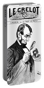 Lincoln Cartoon, 1873 Portable Battery Charger