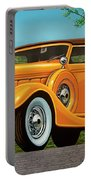 Lincoln K Convertible 1935 Painting Portable Battery Charger