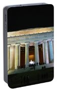 Lincoln Memorial - From Reflecting Pool Portable Battery Charger