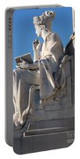 lincoln statue Gettysburg PA Portable Battery Charger