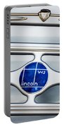 Lincoln V12 Emblem Portable Battery Charger