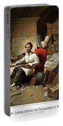 Lincoln Writing The Emancipation Proclamation Portable Battery Charger