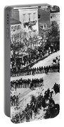 Lincolns Funeral Procession, 1865 Portable Battery Charger by Photo Researchers, Inc.