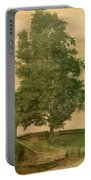 Linden Tree On A Bastion 1494 Portable Battery Charger