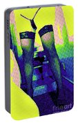 Lingerie Tease Pop Art Portable Battery Charger