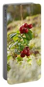 Lingonberries 1 Portable Battery Charger