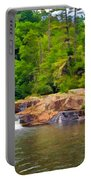 Linville Falls Nc Portable Battery Charger