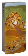 Lion And Lioness Portable Battery Charger