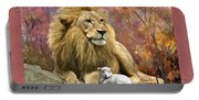 Lion And The Lamb Portable Battery Charger