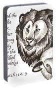 Lion And Yearling Portable Battery Charger