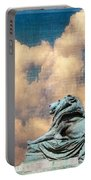 Lion In The Clouds Portable Battery Charger