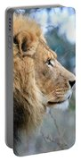 Lion In Thought Portable Battery Charger