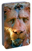 Lion Of Saint Augustine Portable Battery Charger