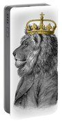 Lion The King Of The Jungle Portable Battery Charger