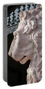 Lion's Gaze Portable Battery Charger by Todd Blanchard