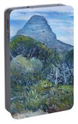 Lions Head Cape Town South Africa 2016 Portable Battery Charger