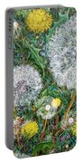 Lions Of The Garden Portable Battery Charger