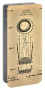 Liquershot Glass Patent 1925 Sepia Portable Battery Charger