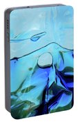 Liquid Abstract  #0059 Portable Battery Charger