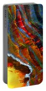 Liquid Abstract Fifteen Portable Battery Charger