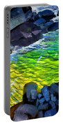 Liquid Abstract Eleven Portable Battery Charger